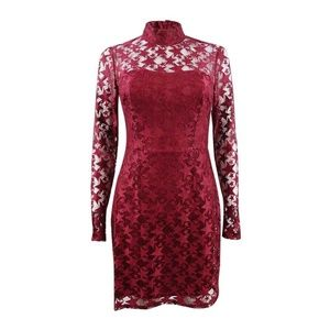 NWT Red Lace Star Dress